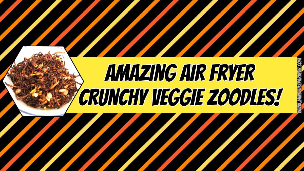 Like Fried Onion Strings?  Try these Amazing Air Fryer Zucchini & Butternut Squash Instead!